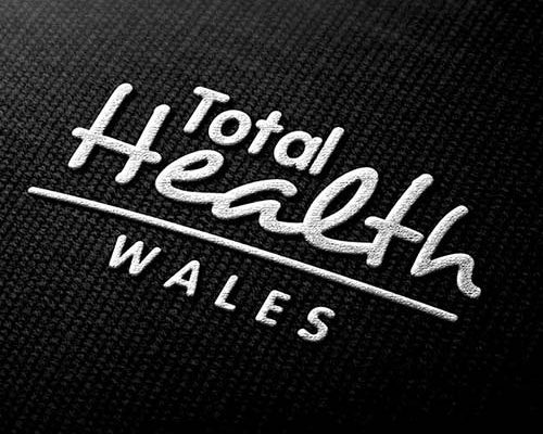 Total Health Wales - Logo design embroidery