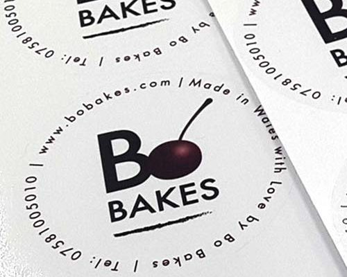 Bo bBakes - Sticker designs