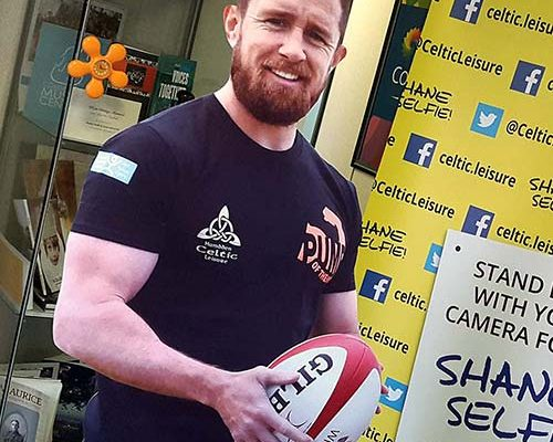 Shane Selfie - Shane Williams cutout