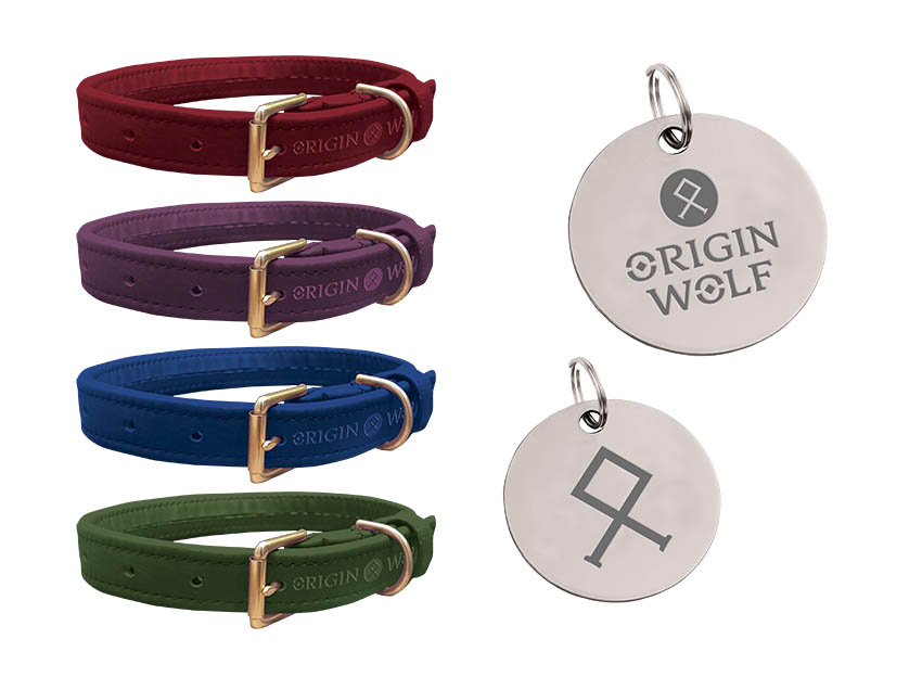 Origin Wolf - Dog collars & tags