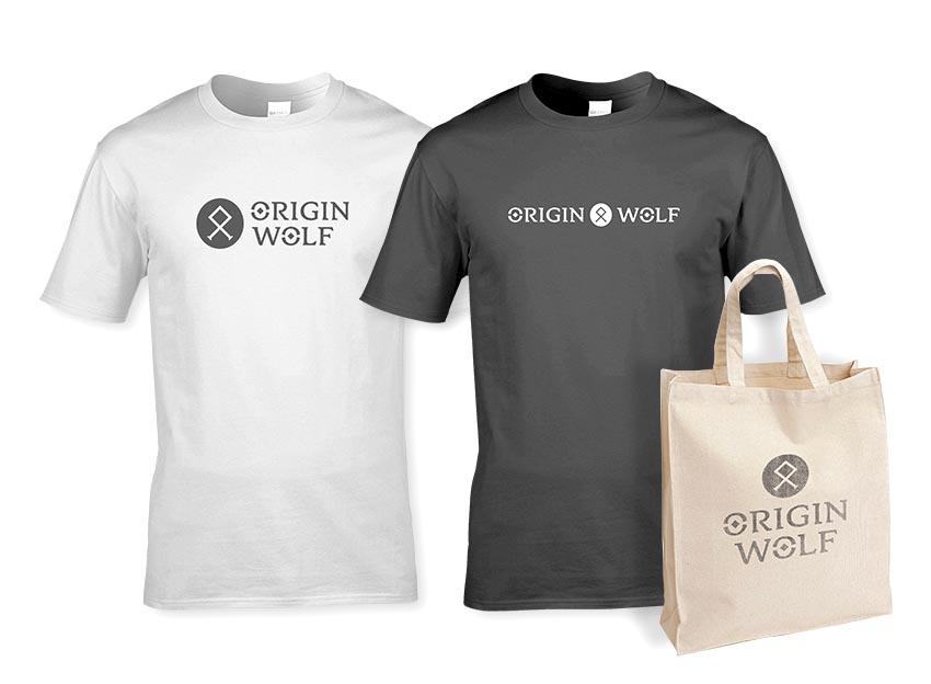 Origin Wolf - Apparel design