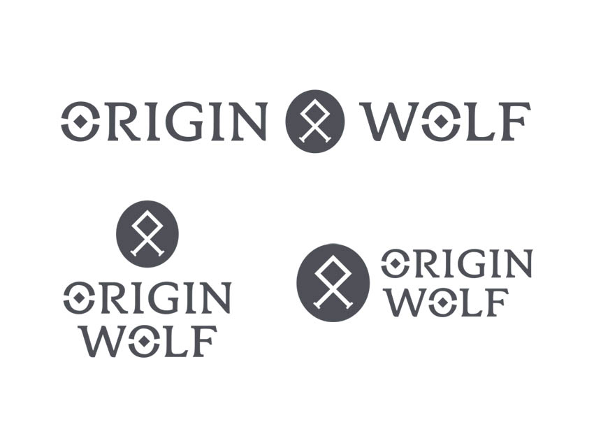 Origin Wolf - Brand identity and logo design