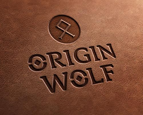 Origin Wolf - Logo design