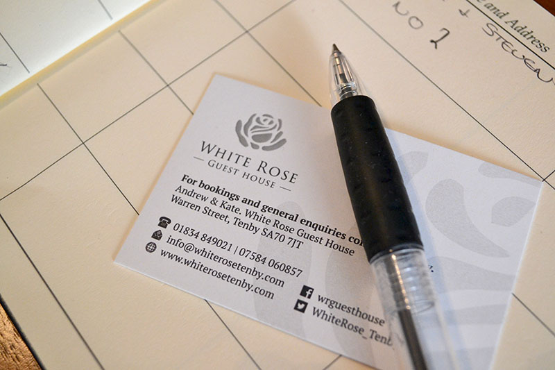 White Rose - Business cards